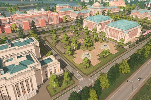 دانلود بازی کامپیوتر Cities: Skylines – Campus