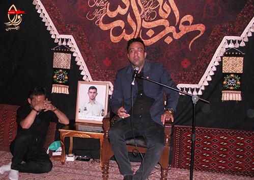 مداحی کربلائی سیدعبدالرضا سجادی در مراسم هشتمین سالگرد شهادت شهیددولت آبادی