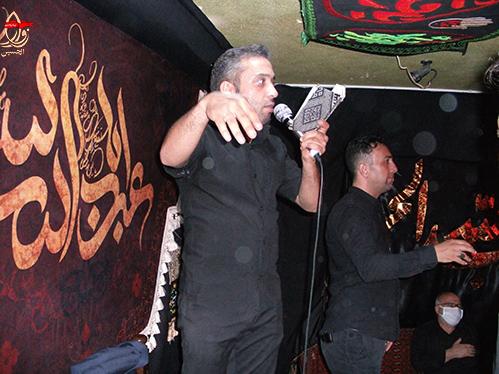 مداحی کربلائی یوسف محسنی در مراسم هشتمین سالگرد شهادت شهیددولت آبادی