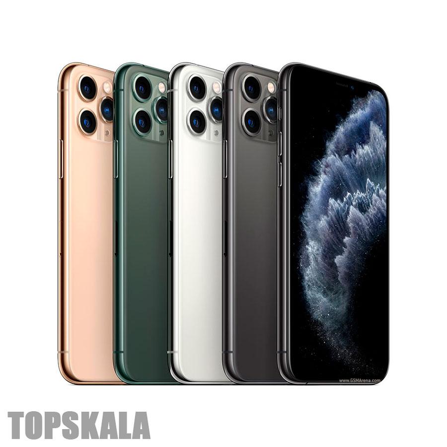گوشی موبایل محصول شرکت اپل مدل iPhone 11 Pro -آیفون 11 پرو- دو سیم کارت با حجم 256 گیگابایت با 18 ماه گارانتی و 30 ماه خدمات نرم افزاری به همراه ریجستری پلمپ و آکبندApple-iPhone-11-Pro-Dual-SIM-128GB-Mobile-Phone