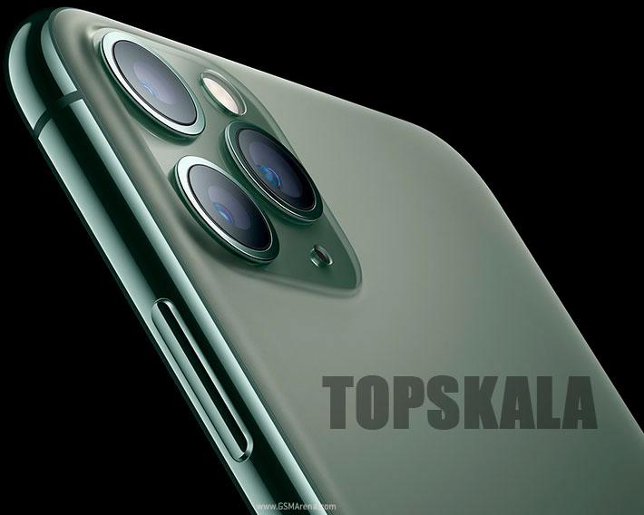 گوشی موبایل محصول شرکت اپل مدل iPhone 11 Pro Max -آیفون 11 پرو مکس- دو سیم کارت با حجم 256 گیگابایت با 18 ماه گارانتی و 30 ماه خدمات نرم افزاری به همراه ریجستری پلمپ و آکبند/ Apple-iPhone-11-Pro-Max-Dual-SIM-256GB-Mobile-Phone