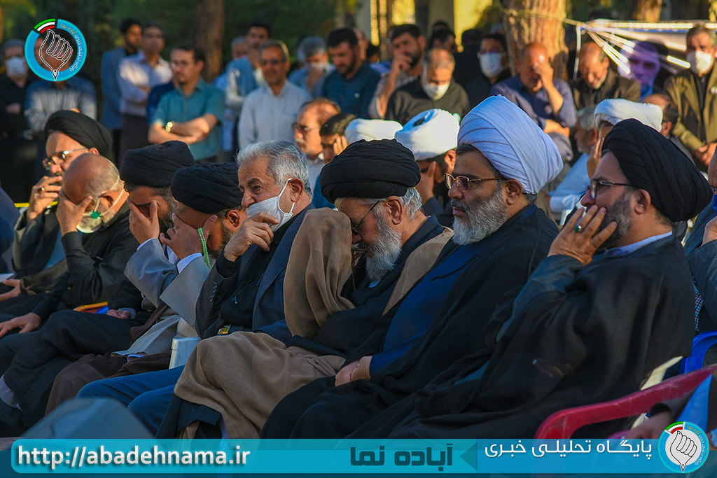 مراسم چهلیمن روز عروج سردار شهید حاج مجتبی ضیائی در آباده/آباده نما