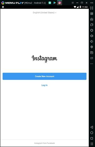 آموزش نصب و دانلود اینستاگرام روی شبیه ساز اندروید در کامپیوتر – لپ تاپ install instagram memu