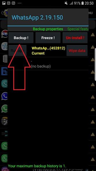 آموزش نصب جی بی واتساپ در اندروید 4 گوشی روت شده دانلود GBWhatsApp اندروید قدیمی