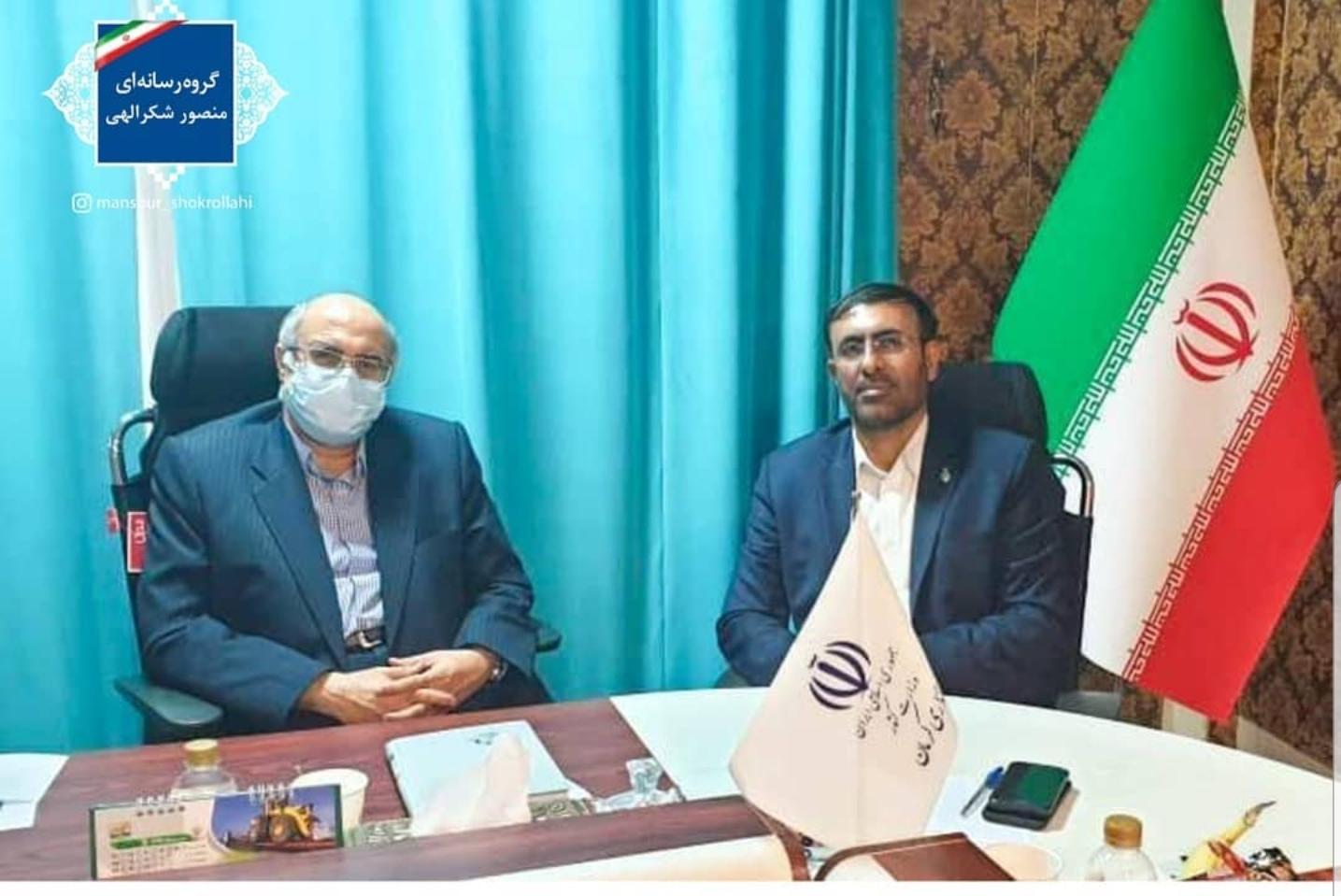 دیدار منصور شکرالهی با استاندار کرمان