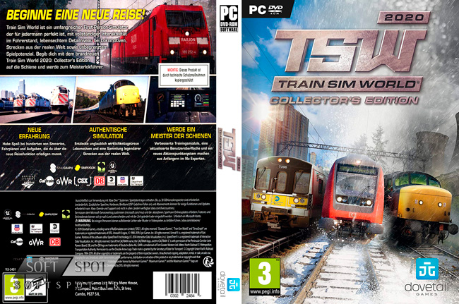 Train Sim World 2020 Cover