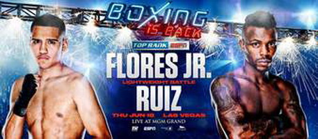 دانلود رویداد بوکس : Top Rank Boxing-Gabriel Flores Jr.vs.Josec Ruiz-2020.06.18