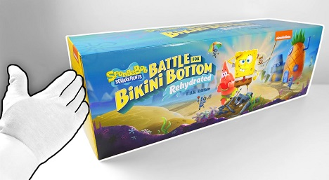SpongeBob SquarePants Battle for Bikini Bottom Rehydrated Unboxing