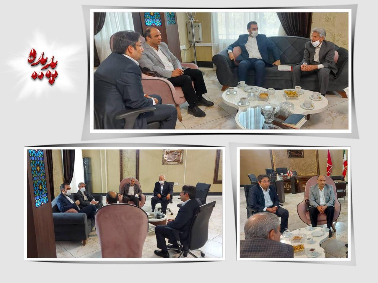 جلسه معارفه مدیرعامل موسسه پشتیبانی سهام پدیده شاندیز برگزار شد