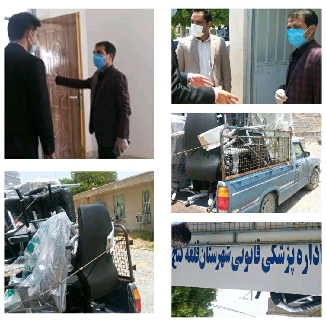 تجهیز و تکمیل ساختمان پزشکی قانونی در قلعه گنج
