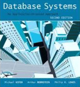 حل المسائل کتاب سیستم های پایگاه داده کیفر، لویس و برن اشتاین – ویرایش دوم