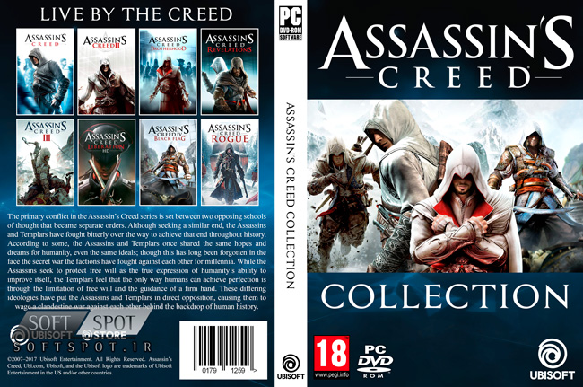 Assassins Creed Collection Cover