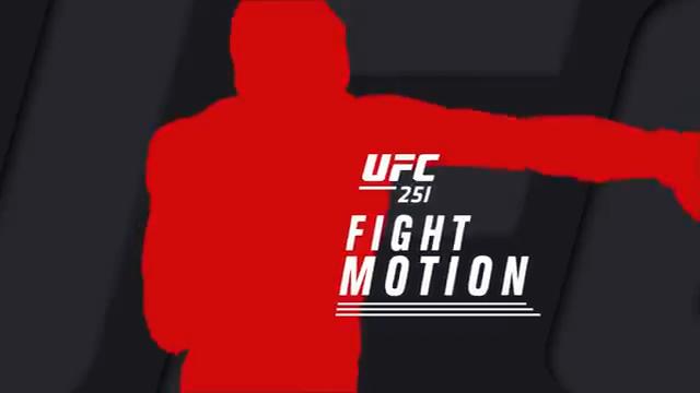 مبارزات به صورت اهسته شده: UFC 251Fight Motion-در3 کیفیت