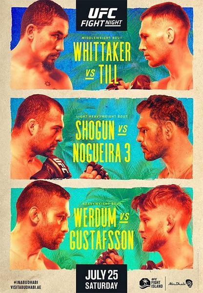 دانلود رویداد یو اف سی : UFC on ESPN 14 : Whittaker vs. Till
