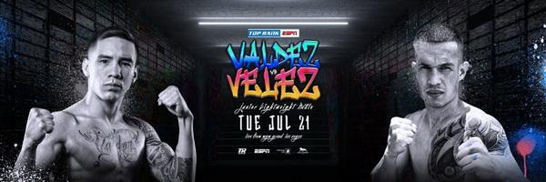 دانلود رویداد بوکس :Top Rank Boxing 2020.07.21 Oscar Valdez.vs Jayson Velez