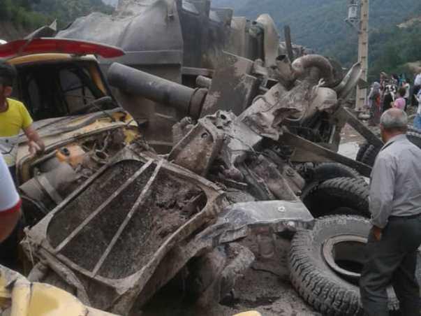 تصادف مرگبار در جاده پونل – خلخال