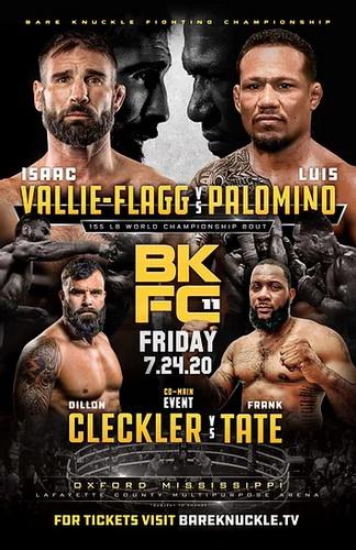 دانلود رویداد بوکس :BKFC 11: V-Flagg vs Palomino