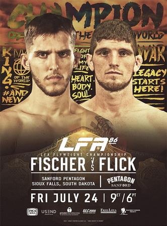 دانلود رویداد ام ام ای   LFA 86: Fischer vs. Flick