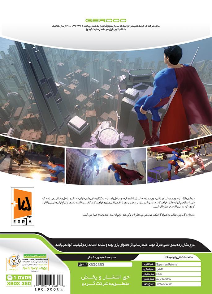 Superman Returns Xbox360 superman returns xbox360 Superman Returns Xbox360 Superman Returns Xbox 360