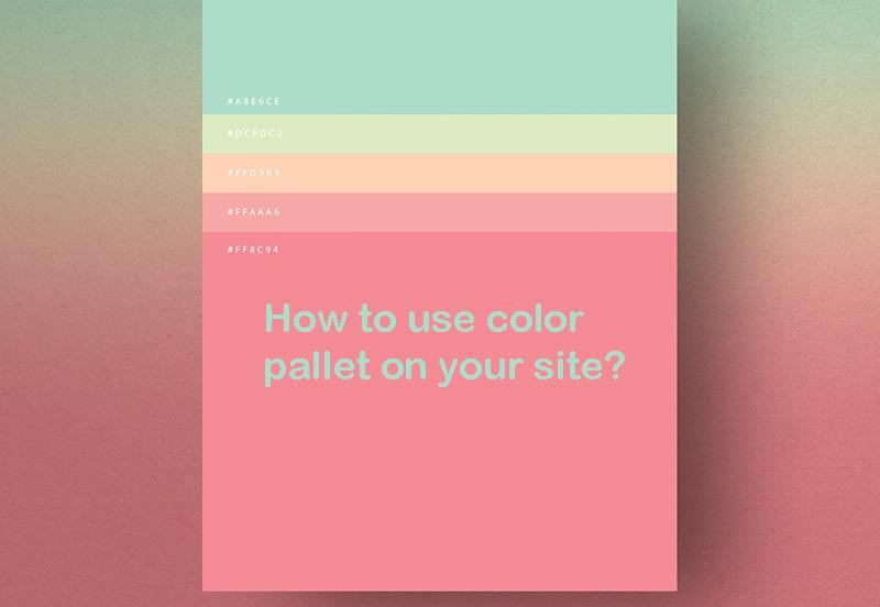 تاثیر رنگ در طراحی سایت شرکتی